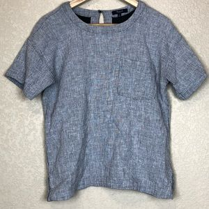 Madewell boxed top
